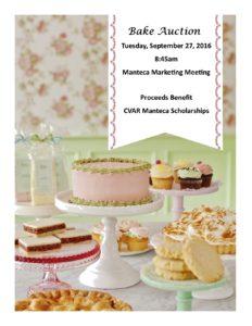 Manteca Council Bake Sale Auction @ CVAR   Lathrop   California   United States