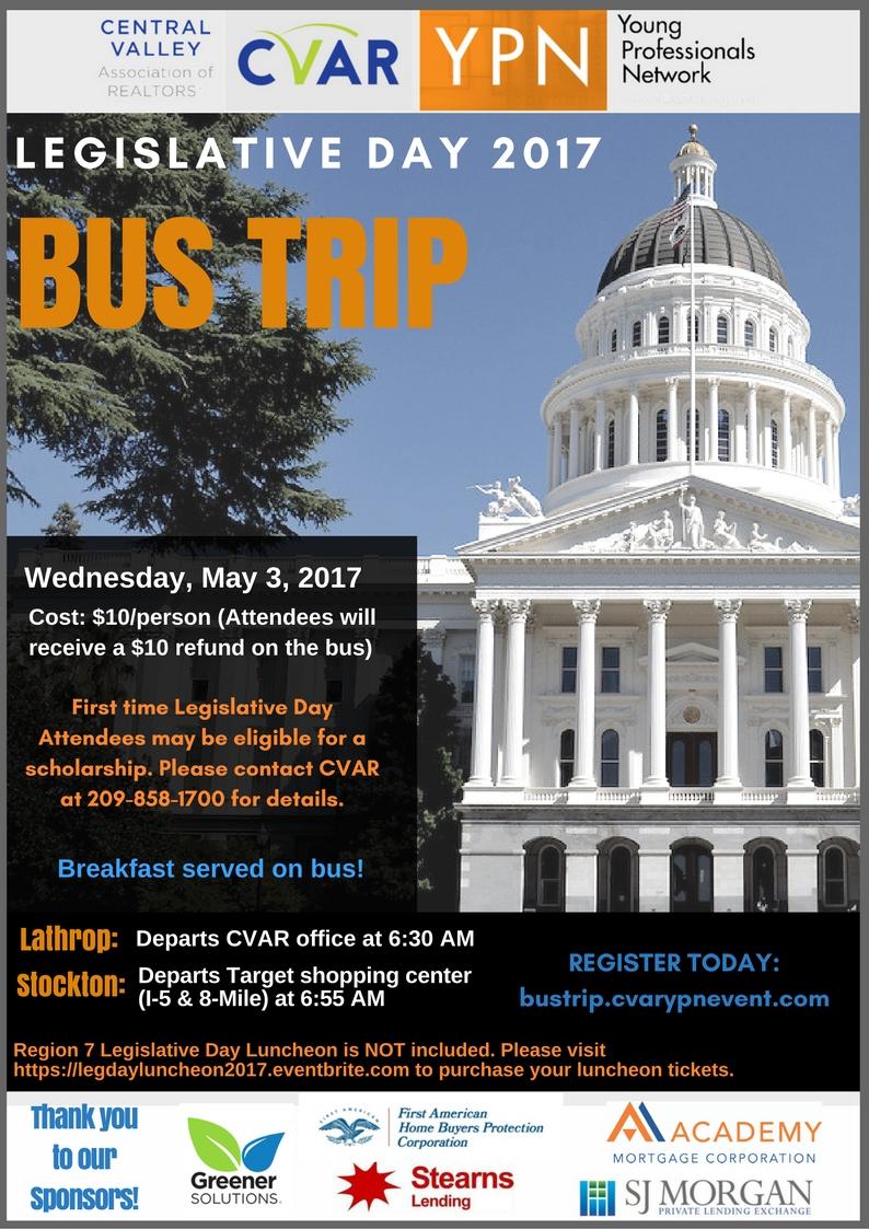 YPN Legislative Day Bus Trip
