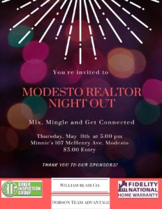 Modesto Council REALTOR Night Out @ Minnie's  | Modesto | California | United States