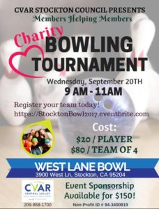 Stockton Council Bowling Tournament @ West Lane Bowl | Stockton | California | United States