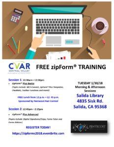 ZipForms Training Basics @ Salida Library | Salida | California | United States
