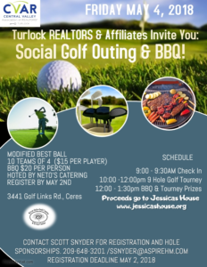 Turlock Social Golf Outing & BBQ @ River Oaks Golf Course & Event Center | Ceres | California | United States