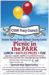 CVAR Tracy Council Picnic in the Park @ Tracy Wildlife Association | Tracy | California | United States