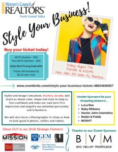 Style Your Business - WCR Luncheon @ Chez Shari | Manteca | California | United States