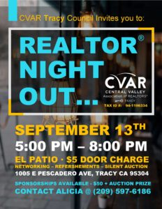 Tracy REALTOR Night Out @ El Patio   Tracy   California   United States