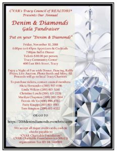 Tracy Council Denim & Diamonds Gala @ Tracy Community Center | Tracy | California | United States