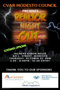 Modesto REALTOR & Affiliate Night Out @ SKEWERS KABOB HOUSE | Modesto | California | United States