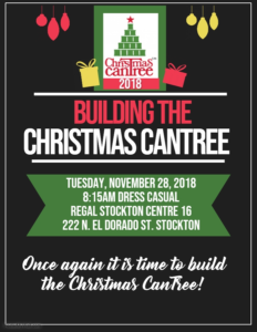 Building The Christmas CanTree @ Regal Stockton Centre 16 | Stockton | California | United States