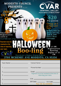 Modesto Council Halloween Boo-ling Event @ Mchenry Bowl