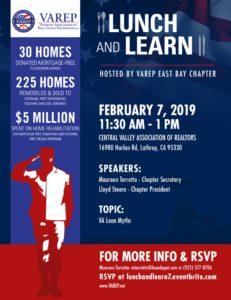 Lunch & Learn  VA Loan Myths @ Central Valley AOR
