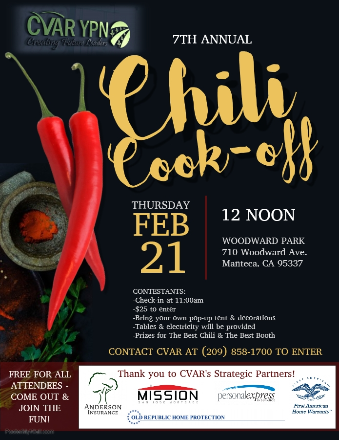 YPN 7th Annual Chili Cook-off @ Woodward Park