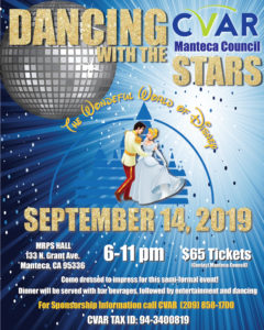 Manteca Council Dancing With The Stars @ MRPS Hall