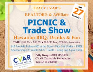 Tracy Picnic & Trade Show @ Tracy Wildlife Association