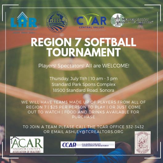 Region 7 Softball Tournament @ Standard Park Sports Complex