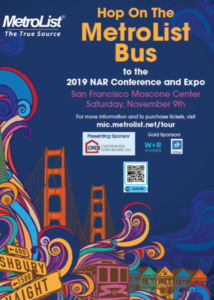 NAR Conference & Expo Metrolist Bus @ CVAR