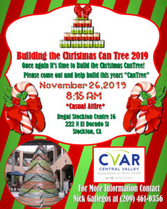 Building The Christmas CanTree @ Regal Stockton Centre 16