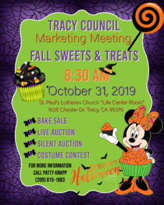 Tracy Council Fall Sweets & Treats @ St. Pauls Lutheran Church