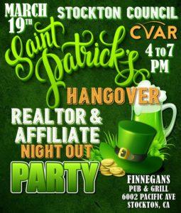 Stockton Council RNO @ Finnegans Pub & Grill