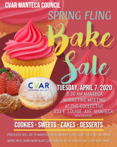 Manteca Marketing Spring Bake Sale @ The Collective