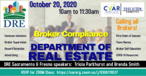 DRE Broker Compliance Training