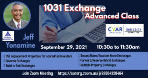 1031 Exchange Advanced Class