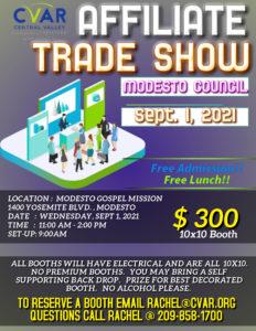 Modesto Council Affiliate Trade Show @ Modesto Gospel MIssion