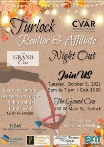 Turlock REALTOR & Affiliate Night Out @ The Grand Cru
